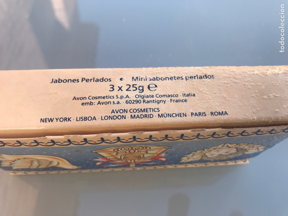 Miniaturas de perfumes antiguos: JABONES ANTIGUOS AVON - Foto 2 - 138868270