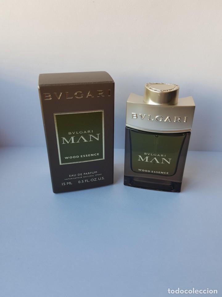 MINIATURA BVLGARI MAN WOOD ESSENCE EDP 15 ML (Coleccionismo - Miniaturas de  Perfumes) 6551463965