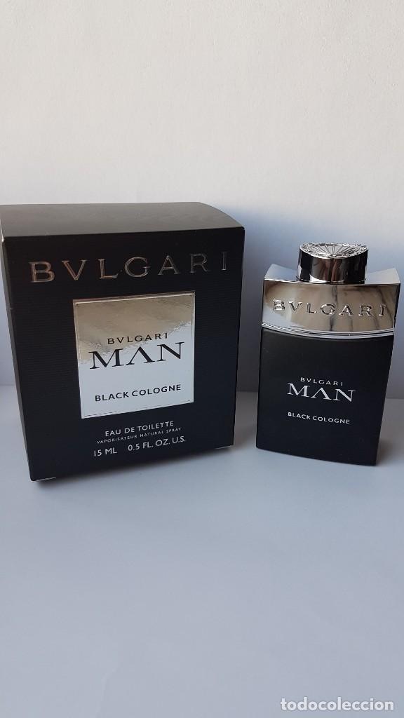 MINIATURA BVLGARI MAN BLACK COLOGNE EDT 15 ML (Coleccionismo - Miniaturas  de Perfumes) 2a9ce3b56b