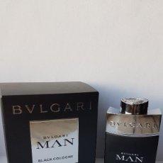 Miniaturas de perfumes antiguos: MINIATURA BVLGARI MAN BLACK COLOGNE EDT 15 ML . Lote 138903410