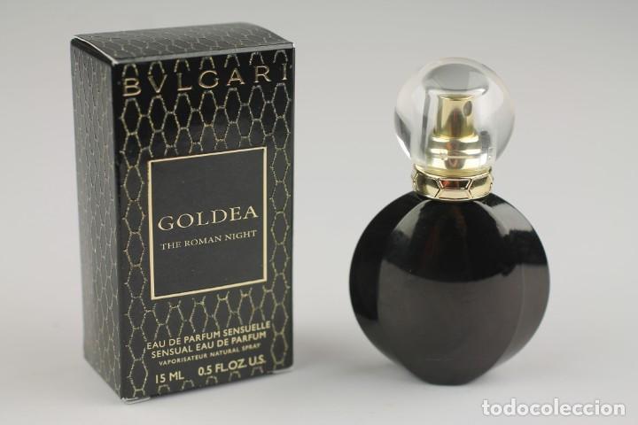 MINIATURA BVLGARI GOLDEA THE ROMAN NIGHT EDP SENSUELLE 15 ML (Coleccionismo - Miniaturas de Perfumes)