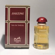 Miniaturas de perfumes antiguos: MINIATURA AMAZONE EDT DE HERMES. Lote 138905378