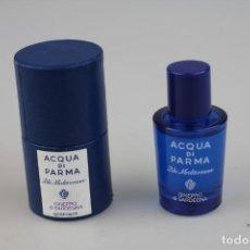 Miniaturas de perfumes antiguos: MINIATURA ACQUA DI PARMA BLU MEDITERRANEO GINEPRO DI SARDEGNA EDT 5 ML . Lote 138906702