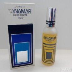 Miniaturas de perfumes antiguos: COLONIA TANAMAR 80 ML CON VAPORIZADOR - NUEVA SIN USAR - DE PARERA - DESCATALOGADA. Lote 139241798