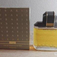 Miniaturas de perfumes antiguos: COLONIA DE HOMBRE SYBARIS DE A.PUIG 50 ML.DEL AÑO 1987, NO ESPRAY.NUEVA CON ESTUCHE.DESCATALOGADA.. Lote 183867382