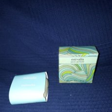 Miniaturas de perfumes antiguos: JABON ESTIVALIA EN PERFECTO ESTADO Y NUEVO. Lote 139243836