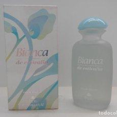 Miniaturas de perfumes antiguos: COLONIA BIANCA DE ESTIVALIA 100 ML - ANTONIO PUIG - A ESTRENAR - DESCATALOGADA - . Lote 139393170