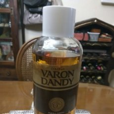 Miniaturas de perfumes antiguos: COLONIA VARÓN DANDY 1 LITRO. Lote 139740478