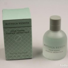 Miniaturas de perfumes antiguos: MINIATURA BOTTEGA VENETA ESSENCE AROMATIQUE EDC 7,5 ML. Lote 140545926