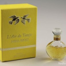 Miniaturas de perfumes antiguos: MINIATURA NINA RICCI L´AIR DU TEMPS P 7,5 ML. Lote 140578714