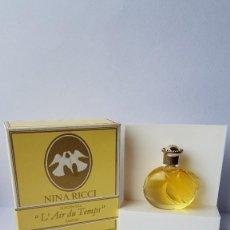 Miniaturas de perfumes antiguos: MINIATURA NINA RICCI L´AIR DU TEMPS P 5 ML. Lote 140579098
