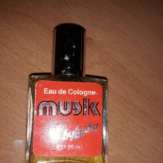 Miniaturas de perfumes antiguos: MUSK BY LUCKY 83º 26 ML MAS S. A. BARCELONA. Lote 140771726