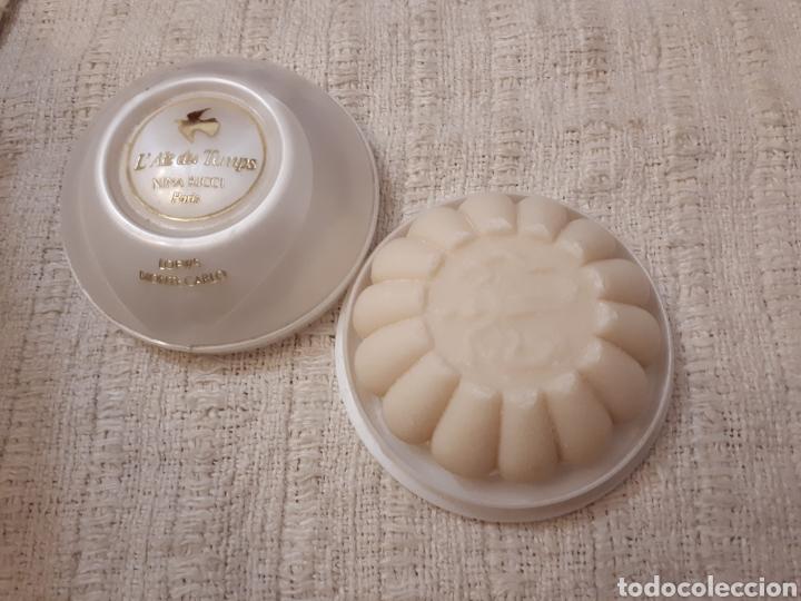 ANTIGUA JABONERA JABÓN AIR DU TEMPS NINA RICCI (Coleccionismo - Miniaturas de Perfumes)