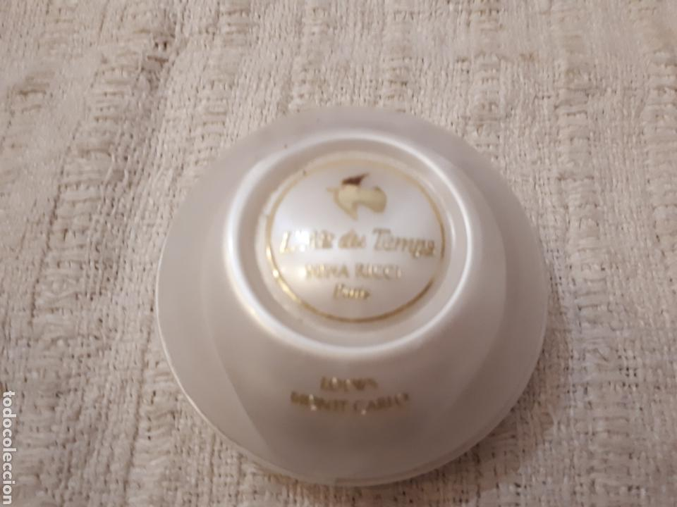 Miniaturas de perfumes antiguos: Antigua jabonera jabón Air du Temps Nina Ricci - Foto 3 - 140940089