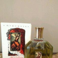 Miniaturas de perfumes antiguos: MYRURGIA NUEVA MAJA - COLONIA PERFUME - Nº 701 - 1/2 LITRO - ÚNICA -COLECCIONISTAS.. Lote 141204166