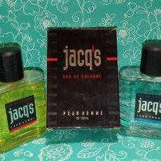 Miniaturas de perfumes antiguos: LOTE COLONIA Y AFTER SHAVE JACQS POUR HOMME. Lote 141503838