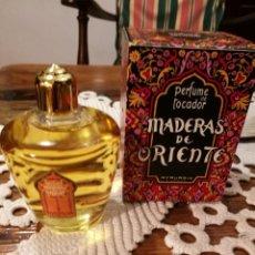 Miniaturas de perfumes antiguos: MYRURGIA, GRAN FRASCO MADERAS DE ORIENTE.. Lote 141826010