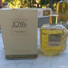 Miniaturas de perfumes antigos: MYRURGIA JOYA 50ML. Lote 142036842