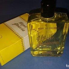 Miniaturas de perfumes antiguos: COLONIA HENO DE PRAVIA DE GAL NUEVA SIN ABRIR. Lote 142039402
