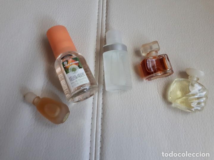 LOTE DE CINCO MINIATURAS DE PERFUME (Coleccionismo - Miniaturas de Perfumes)