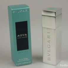 Miniaturas de perfumes antiguos: MINIATURA BVLGARI AQVA MARINE EDT 15 ML. Lote 142933962