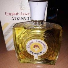 Miniaturas de perfumes antiguos: COLONIA ENGLISH LAVENDER DE ATKINSONS, 87 ML.. Lote 143005758