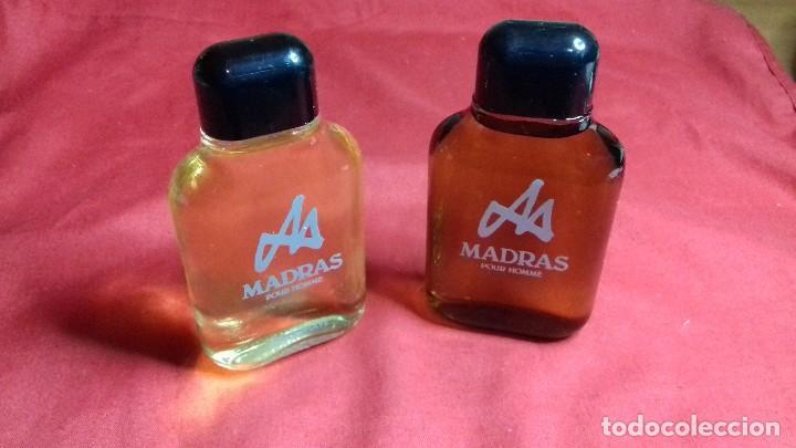 2 MADRAS DE MYRURGIA COLONIA HOMBRE 50 ML POUR HOMME AFTER SHAVE DESCATALOGADO NO TIENE CAJA (Coleccionismo - Miniaturas de Perfumes)