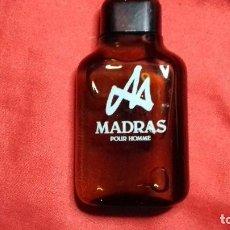 Miniaturas de perfumes antiguos: 1 MADRAS DE MYRURGIA COLONIA HOMBRE 50 ML POUR HOMME AFTER SHAVE DESCATALOGADO NO TIENE CAJA. Lote 184074240