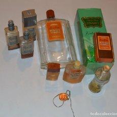 Miniaturas de perfumes antiguos: ANTIGUO LOTE LEGRAIN - ROYAL AMBRE, TENSION .... - 9 UNIDADES. Lote 143665726