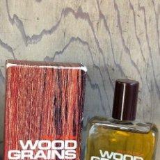 Miniaturas de perfumes antiguos: WOOD GRAINS TEAKWOOD EDC DE MAX FACTOR 118ML. VINTAGE. Lote 144672158