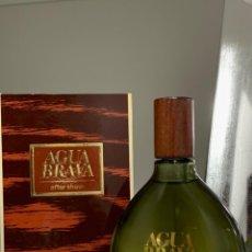 Miniaturas de perfumes antiguos: AGUA BRAVA AFTER SHAVE GRAN TAMAÑO 200ML SPLASH. Lote 144977246