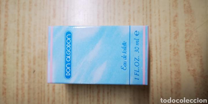 Miniaturas de perfumes antiguos: Don algodon colònia de 30ml Llena - Foto 2 - 145160973