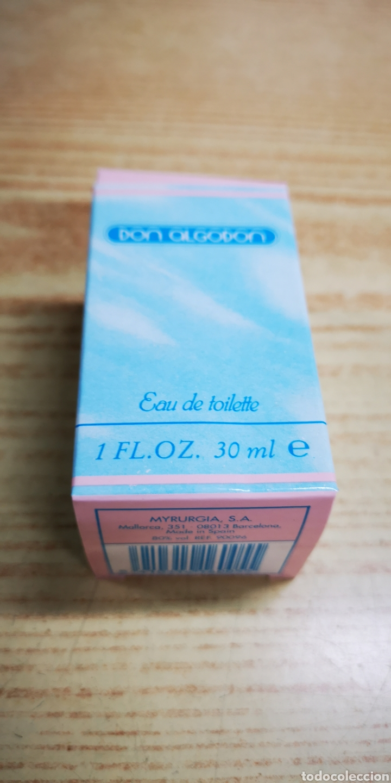 Miniaturas de perfumes antiguos: Don algodon colònia de 30ml Llena - Foto 3 - 145160973