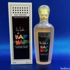Miniaturas de perfumes antiguos: NAF NAF EAU FRAICHE VAPO 100ML. Lote 145641501