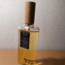 Miniaturas de perfumes antiguos: VORAGO TESTER DE PRUEBA NUEVO SIN USO MUESTRA QUE DABAN A LAS TIENDAS EAU DE TOILETTE COLONIA. Lote 145924070