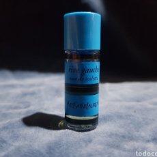 Miniaturas de perfumes antiguos: MINIATURA PERFUME RIVE GAUCHE YVESSAINTLAURENT. Lote 146143622
