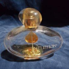 Miniaturas de perfumes antiguos: FRASCO DE PERFUME INTUITION 100ML. Lote 146147044
