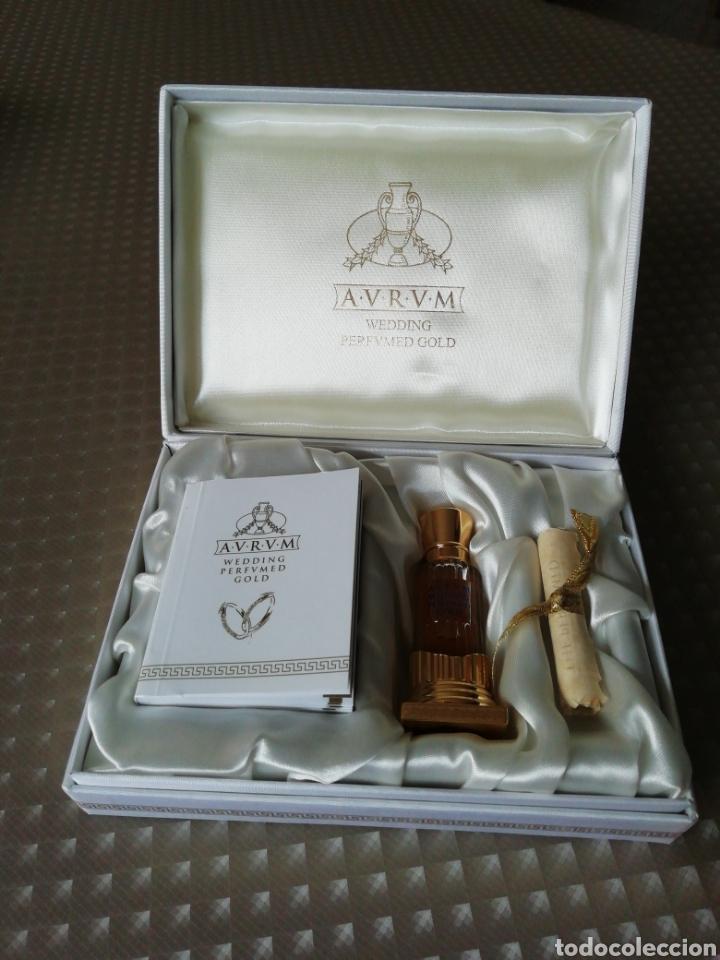 PERFUME AURUM WEDDING PERFUMED GOLD (Coleccionismo - Miniaturas de Perfumes)