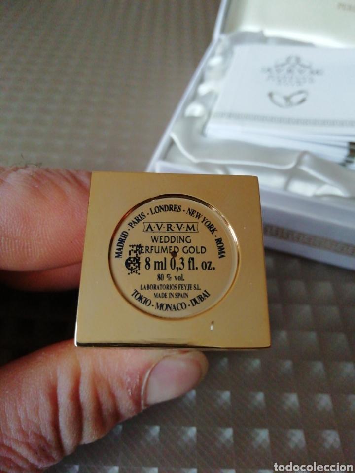 Miniaturas de perfumes antiguos: Perfume Aurum wedding perfumed gold - Foto 4 - 146752453