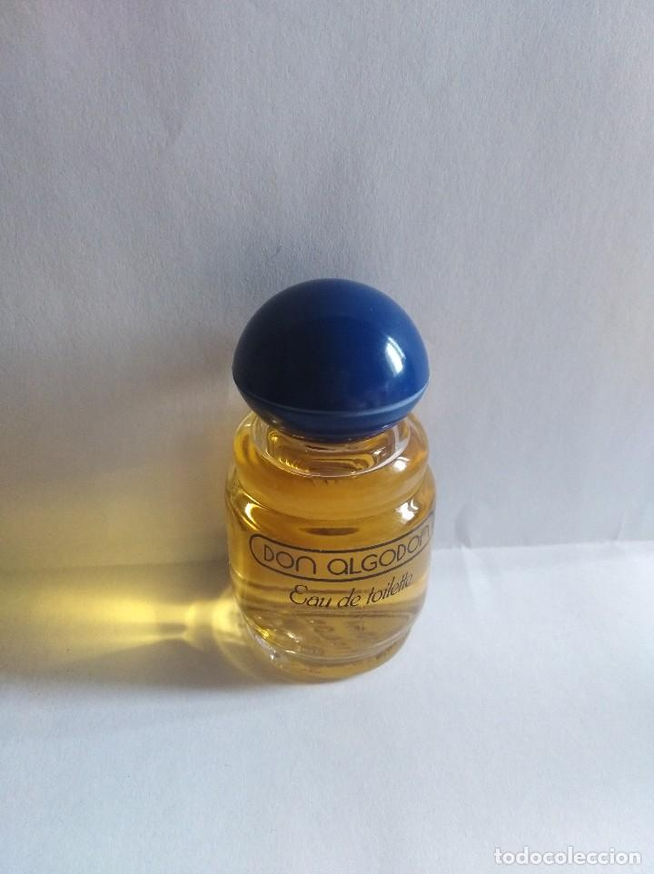 Miniaturas de perfumes antiguos: Colonia Don Algodón 30ml - Foto 1 - 148350766