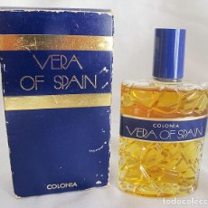 Miniaturas de perfumes antiguos: FRASCO VINTAGE COLONIA VERA OF SPAIN. Lote 148792622