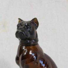 Miniaturas de perfumes antiguos: PERRO BOXER - BOTELLA COLONIA AVON. Lote 149431430