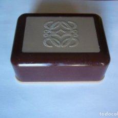 Miniaturas de perfumes antiguos: JABONERA LOEWE VINTAGE. Lote 149815358