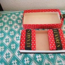 Miniaturas de perfumes antiguos: ANTIGUAS PASTILLAS DE JABON. Lote 149820374