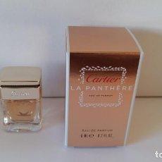 Miniaturas de perfumes antiguos: MINIATURA LA PANTHERE DE CARTIER. Lote 151522254