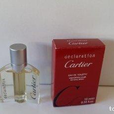 Miniaturas de perfumes antiguos: MINIATURA DECLARATION DE CARTIER. Lote 151523590