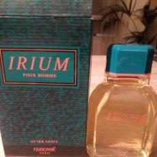 Miniaturas de perfumes antiguos: AFTER SHAVE IRIUM FABERGE. Lote 151545490