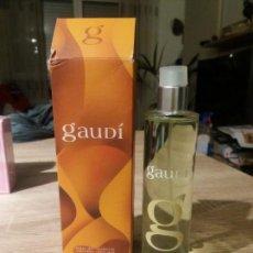 Miniaturas de perfumes antiguos: COLONIA GAUDI. Lote 151545646