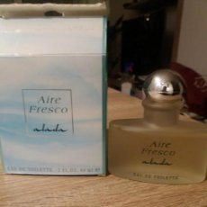 Miniaturas de perfumes antiguos: AIRE FRESCO DE ALADA. Lote 151545930