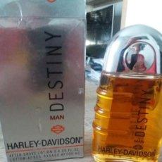 Miniaturas de perfumes antiguos: AFTER SHAVE DESTINY DE HARLEY DAVIDSON. Lote 151568470